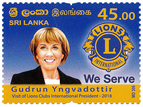 Visit of Lions Clubs International President - 2018