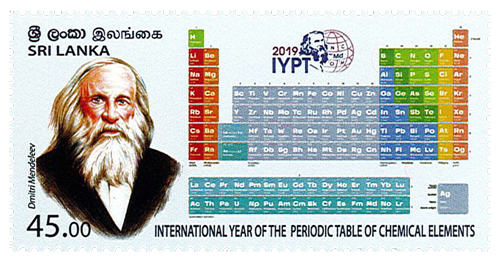 International Year of The Periodic Table of Chemical Eelements - 2019