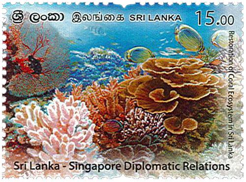 Sri Lanka - Singapore Diplomatic Relations (2021) 1/2